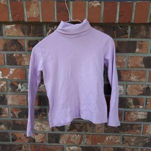 Lavender Turtleneck Sweater from Zara Kids